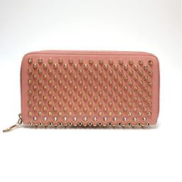 Christian Louboutin Christian louboutin spiked round fastener wallet women's