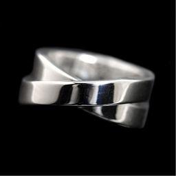 カルティエ Cartier パリリング K18WG レディース 50 指輪 ジュエリー アクセサリー