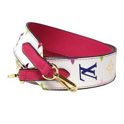 Louis Vuitton LOUIS VUITTON multi-color shoulder strap J02248 Women's