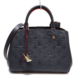 Louis Vuitton LOUIS VUITTON Anplant Montaigne BB M42747 Marine Rouge