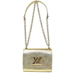 Louis Vuitton LOUIS VUITTON Epi Twist PM M50115 Gold Shoulder Bag