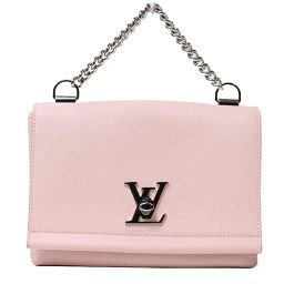 Louis Vuitton LOUIS VUITTON Rock Me II BB M 51201 Rose Valle Leine Womens