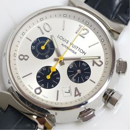 Louis Vuitton LOUIS VUITTON Tambour Chronograph Q112E Silver automatic winding