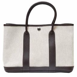 HERMES HERMES Garden Party TPM Maron Handbag Tote Bag Women's