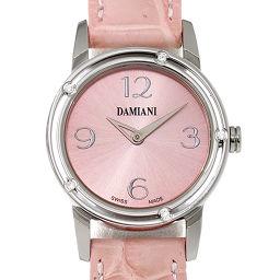 ダミアーニ DAMIANI ディサイド D-SIDE 5P ダイヤ レディース 腕時計 ピンク ウォッチ 【腕時計】★