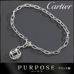 カルティエ パシャ グリッド ブレスレット 19cm K18WG 【BJ】★