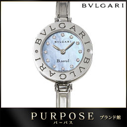 Bvlgari B-zero 1 Be Zero One BZ22S Bangle Watch 12P Diamond Women's Wrist Watch 【Arm