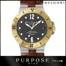 Bvlgari BVLGARI Diago NO SCUBA SD38SG Men's watch combination K18YG [Watch] ★