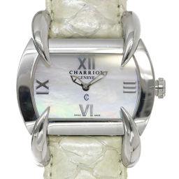 Charioll CHARRIOL Kucha Ladies Watch White Shell Dial Watch [Watch] ★