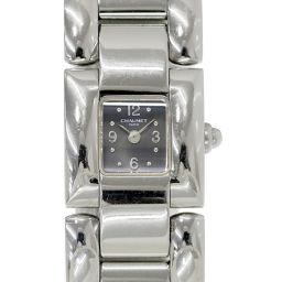 ショーメ CHAUMET ミヘーウィ レディース 腕時計 グレー 文字盤 クォーツ ウォッチ 【腕時計】★