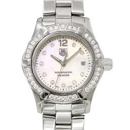 タグホイヤー TAG HEUER アクアレーサー WAF1416 レディース 腕時計 ダイヤベゼル ウォッチ 【腕時計】★