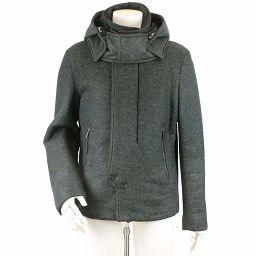 Emporio Armani EMPORIO ARMANI Jacket Half Coat Gray 52 Size Mens [Apparel] ★
