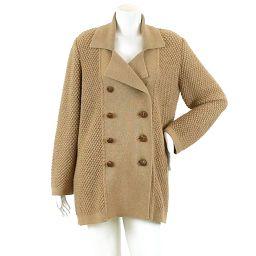 Foxy Boutique FOXEY BOUTIQUE Coat Alpaca Outerwear Brown Size F Womens [Apparel] ★