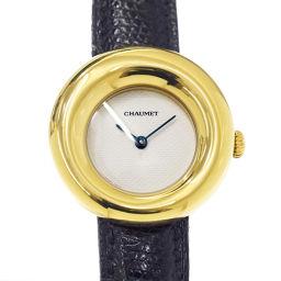 ショーメ CHAUMET アノー K18YG レディース 腕時計 イエローゴールド ウォッチ 750 【腕時計】★