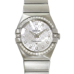 オメガ コンステレーション ダイヤベゼル レディース 腕時計 123 15 27 60 52 001 【腕時計】★
