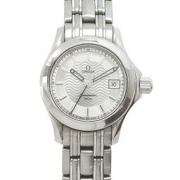 オメガ OMEGA シーマスター 120 2581 31 レディース 腕時計 シルバー 文字盤 デイト 【腕時計】★