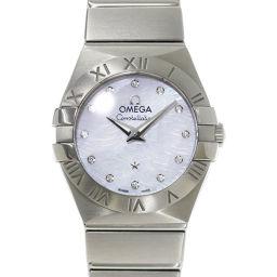 オメガ OMEGA 123 10 24 60 55 004 コンステレーション ブラッシュ レディース 腕時計 ダイヤ 【腕時計】★