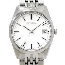 シチズン CITIZEN ザ シチズン 0350 C30919 メンズ 腕時計 ホワイト 文字盤 デイト 【腕時計】★