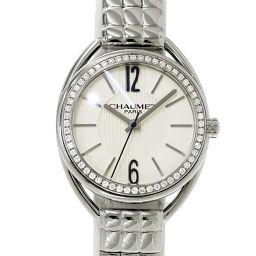 ショーメ CHAUMET リアン ベゼルダイヤ レディース 腕時計 W23611 01A ウォッチ 【腕時計】★