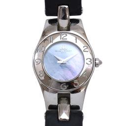 ボーム&メルエ BAUME&MERCIER リネア 65305 レディース 腕時計 ブルーシェル 文字盤 【腕時計】★