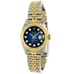ロレックス ROLEX デイトジャスト 69173G ダイヤ ブルーグラデーション レディース 腕時計 【腕時計】★