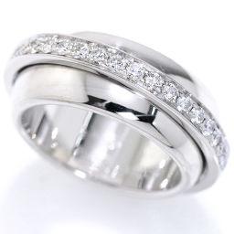 ピアジェ PIAGET ポセション ダイヤ #53 リング K18WG 18金ホワイトゴールド 750 ダイア 指輪 【BJ】★