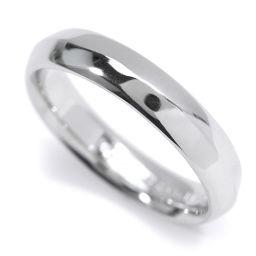 ティファニー バンド リング 16号 PT950 プラチナ 指輪 TIFFANY&Co. 【BJ】★