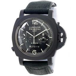 パネライ PANERAI ルミノール1950 8デイズ GMT クロノ モノプルサンテ PAM00317 腕時計 【腕時計】★