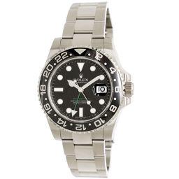 ロレックス ROLEX 116710LN GMTマスター V番 メンズ 腕時計 ルーレット オートマ ウォッチ 【腕時計】★