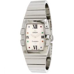 オメガ OMEGA コンステレーション クアドレラ アイリス 1586 79 レディース 腕時計 ダイヤ 【腕時計】★