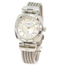 Sharioru CHARRIOL New Alexander ALEXS Ladies Watch Date Silver [Watch] ★