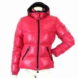 モンクレール ダウン ジャケット バディア BADIA 中綿 ワッペン ピンク サイズ 0 2007年 レディース 【アパレル】★