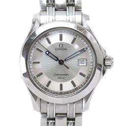 オメガ OMEGA シーマスター120 メンズ 腕時計 2511 31 デイト シルバー ウォッチ 【腕時計】★