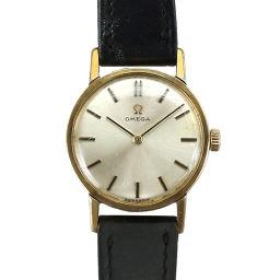 オメガ OMEGA 手巻き cal.620 レディース 腕時計 シルバー 文字盤 アンティーク 【腕時計】★