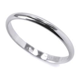 カルティエ Cartier クラシック #64 リング Pt950 幅2.5mm プラチナ 指輪 【BJ】★