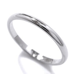 カルティエ Cartier クラシック #54 リング Pt950 幅2mm プラチナ 指輪 【BJ】★