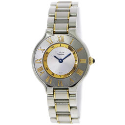 カルティエ Cartier マスト21 ヴァンティアン コンビ W10073R6 レディース 腕時計 【腕時計】★