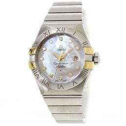 オメガ OMEGA コンステレーション ブラッシュ ダイヤ レディース 腕時計 123 20 31 20 55 004 【腕時計】★