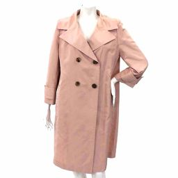 Foxy tailored coat long 3/4 sleeve cotton pink size 42 women [Apparel] ★