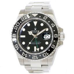 ロレックス ROLEX 116710LN GMTマスター G番 メンズ 腕時計 ルーレット オートマ 【腕時計】★