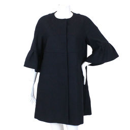 Red Valentino RED VALENTINO Coat No color Half sleeve Navy A line size 40 lady [Apparel] ★