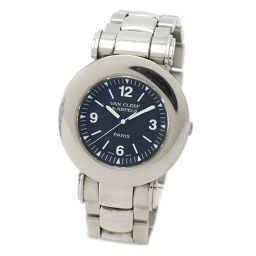 ヴァンクリーフ&アーペル VanCleef&Arppels ローマ 054154 ボーイズ 腕時計 ブラック 【腕時計】★