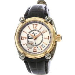 セイコー SEIKO ガランテ GMT SBLA032 メンズ 腕時計 5R66 0AA0 スプリングドライブ 【腕時計】★
