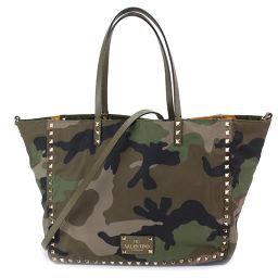 Shintoru Valentino Garavani camouflage reversible tote bag multicolor [brand] ★