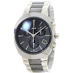 Rado RADO Diamond Star Chronograph 541 0937 3 Men's Watch Date Black [Watch] ★