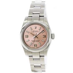 ロレックス ROLEX 176200 Z番 オイスターパーペチュアル レディース 腕時計 ピンク 【腕時計】★