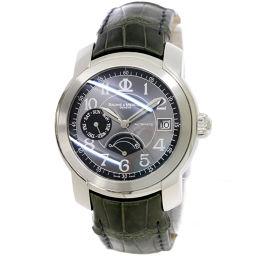 ボーム&メルシェ BAUME&MERCIER ケープランド 65417 メンズ 腕時計 デイデイト グレー 【腕時計】★