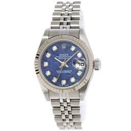 ロレックス ROLEX デイトジャスト 79174G K番 レディース 腕時計 ダイヤ ソーダライト 【腕時計】★