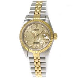 Rolex ROLEX Datejust 69173G Ladies Watch Diamond Computer 【Watch】 ★