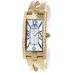 Harry Winston HARRY WINSTON Lady Avenue 332LQG Diamond Ladies Watch [Watch] ★